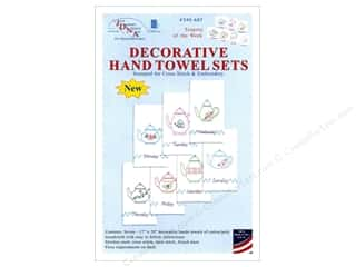 Jack Dempsey Decorative Hand Towel - Teapots of Week 7 pc.