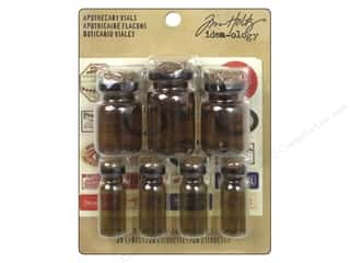 resin: Tim Holtz Idea-ology Apothecary Vials