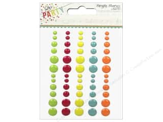 Simple Stories: Simple Stories Enamel Dots Let's Party