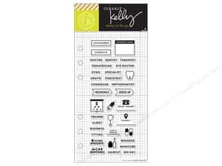 Hero Arts Poly Clear Stamp Kelly Planner Appointment