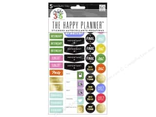 Me&My Big Ideas Collection Create 365 Happy Planner Sticker School College
