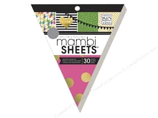 Me & My Big Ideas Sheets Cardstock Banner Pad 8 in. Big City Brights With Glitter
