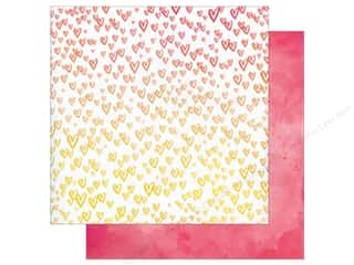 American Crafts 12 x 12 in. Paper Amy Tangerine Better Together Salt & Pepper (25 sheets)