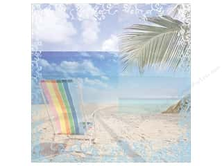 """patterned paper: Paper House Paper 12""""x 12"""" Beach Chair (25 sheets)"""
