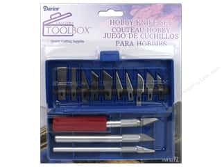 Crafts knife: Darice Hobby Knife Set 16 pc.