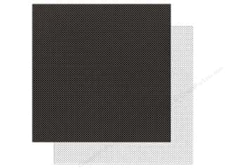 scrapbooking & paper crafts: Doodlebug Paper 12 x 12 in. Swiss Dot Petite Beetle Black (25 sheets)