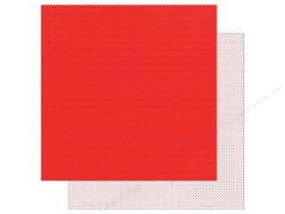 Doodlebug Paper 12 x 12 in. Swiss Dot Petite Ladybug (25 sheets)