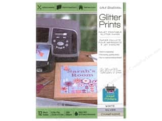 Coredinations Glitter Prints Paper Pad 8 1/2 x 11 in. Assorted 24 pc.