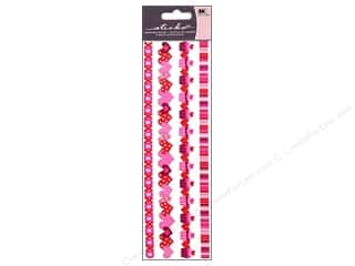 scrapbooking & paper crafts: EK Sticko Stickers Epoxy Border Valentine Ribbon