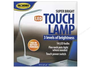 Lamps: Ideaworks Light Super Bright LED Touch Lamp USB/Battery