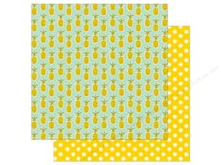 "Imaginisce Collection Sunny Paper 12""x 12"" Pineapple Days (25 sheets)"