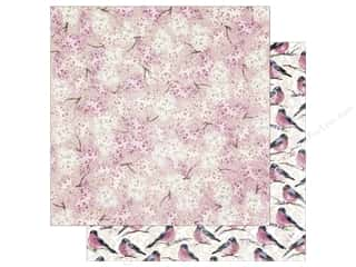 Cardstock: Bo Bunny 12 x 12 in. Paper Secret Garden Collection Bloom (25 sheets)