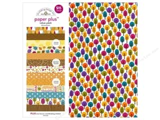 Fall Sale: Doodlebug 12 x 12 in. Paper Plus Value Pack Fall (3 sets)