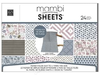 scrapbooking & paper crafts: Me & My Big Ideas Sheets 18 3/8 x 25 13/16 in. Paper Pad Soft Blooms