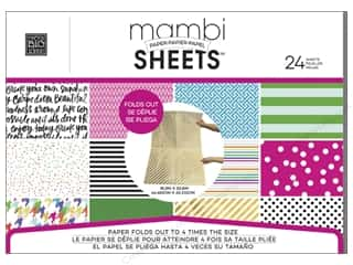 scrapbooking & paper crafts: Me & My Big Ideas Sheets Cardstock Pad 18 3/8 x 25 13/16 in. Big City Brights