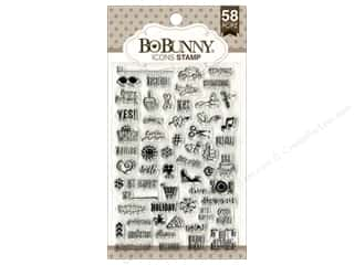 stamps: Bo Bunny Clear Stamps Icons