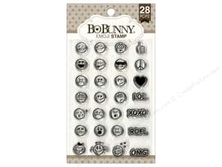 scrapbooking & paper crafts: Bo Bunny Clear Stamps Emoji