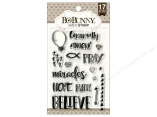 stamps: Bo Bunny Clear Stamps Amen