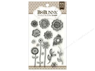 stamps: Bo Bunny Clear Stamps Doodle Blooms