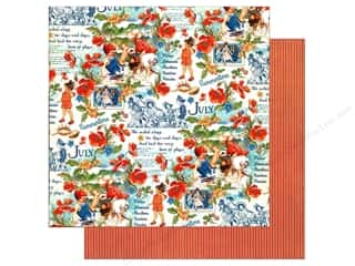 Graphic 45 12 x 12 in. Paper Children's Hour July Montage (25 sheets)