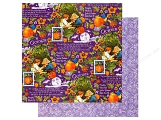 Graphic 45 12 x 12 in. Paper Children's Hour October Montage (25 sheets)