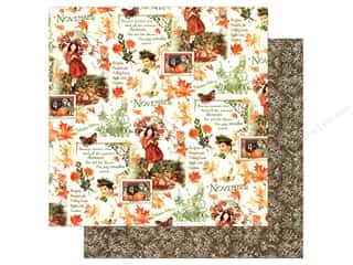 Fall Sale Graphic 45: Graphic 45 12 x 12 in. Paper Children's Hour November Montage (25 sheets)