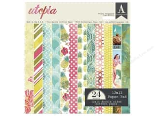 Holiday Sale Designer Papers & Cardstock: Authentique 12 x 12 in. Paper Pad Utopia
