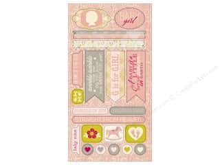 Authentique Die Cuts Cuddle Girl Components (12 sheets)