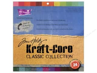 Clearance Coredinations Cardstock Packs: Coredinations Cardstock Pack 12 x 12 in. Tim Holtz Kraft-Core Classic