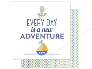 Doodlebug 12 x 12 in. Paper Anchors Aweigh New Adventure