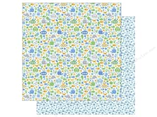 Doodlebug 12 x 12 in. Paper Anchors Aweigh Sea Life (25 sheets)