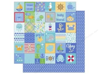 Doodlebug 12 x 12 in. Paper Anchors Aweigh Little Sailor