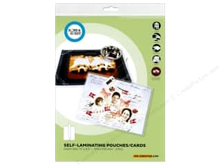 scrapbooking & paper crafts: 3L Home & Hobby Self Laminating Pouch 11 x 8 1/2 in. 2 pc.