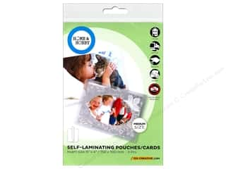 scrapbooking & paper crafts: 3L Home & Hobby Self Laminating Pouch  6 x 4 in. 3 pc.
