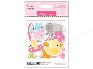die cuts: Bella Blvd Die Cut Paper Pieces Sweet Baby Girl