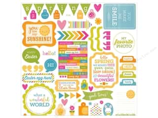 Spring Stickers: Doodlebug Sticker Spring Garden This & That (12 sets)