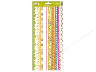 Spring Stickers: Doodlebug Sticker Spring Garden Fancy Frills (12 sets)