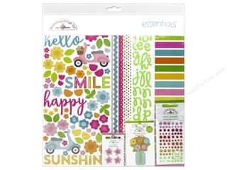 brads mini: Doodlebug Essentials Kit Spring Garden