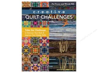 books & patterns: Creative Quilt Challenges: Take the Challenge to Discover Your Style & Improve Your Design Skills Book by Pat Pease and Wendy Hill
