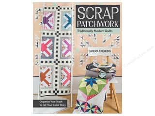 books & patterns: Scrap Patchwork: Traditionally Modern Quilts Book by Sandra Clemons