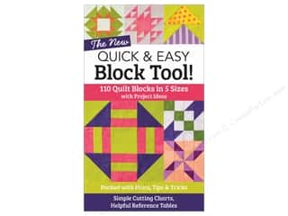 C&T Publishing Quick & Easy Block Tool Book