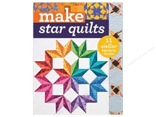C&T Publishing Make Star Quilts Book