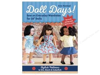 C&T Publishing Doll Days Sew An Everyday Wardrobe For 18 in. Dolls Book