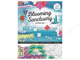 C&T Publishing Books Blooming Sanctuary Coloring Book