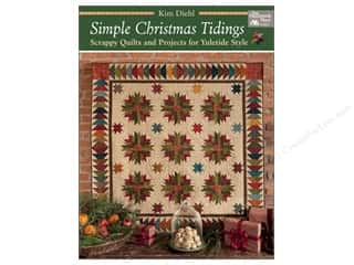 Simple Christmas Tidings: Scrappy Quilts and Projects for Yuletide Style Book by Kim Diehl