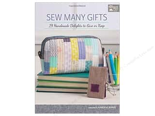 books & patterns: Sew Many Gifts: 19 Handmade Delights to Give or Keep Book by Karen M. Burns