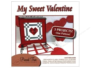 books & patterns: Pieced Tree My Sweet Valentine 3 in 1 Pattern