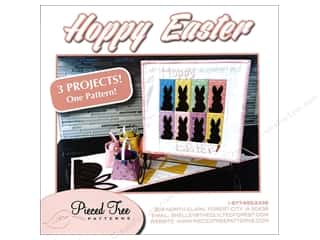 Pieced Tree Hoppy Easter 3 in 1 Pattern
