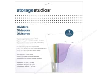 scrapbooking storage: Storage Studios Dividers 3 pc.