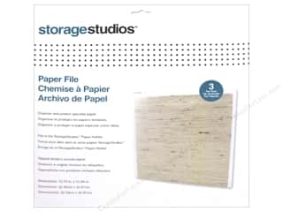 scrapbooking & paper crafts: Storage Studios Paper File 3 pc.